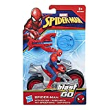 Hasbro Spider-Man Spiderman - Blast N Go Personaggio con Veicolo