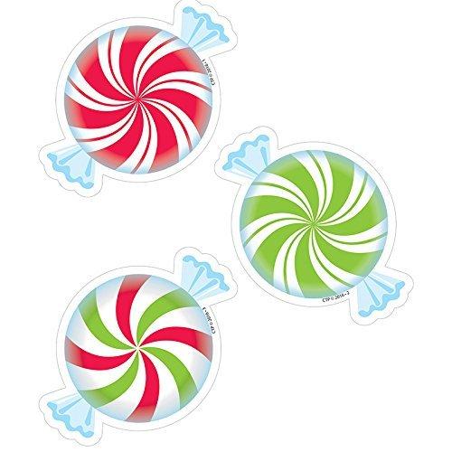 Creative Teaching Press Peppermint Candies Cut Outs, 3 (8085) by Creative Teaching Press -