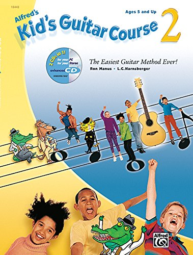 Alfreds Kid's Guitar Course 2