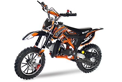 Dirtbike Pocketbike Gepard Sport CARBON Easy Starter Tuning Kupplung 15mm Vergaser Mini Cross Crossbike (Zufall)
