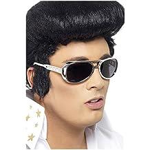 Elvis gafas de sol de plata