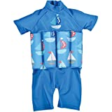 Splash About Collections UV (SPF50+) Sun Protection Float Suit with Adjustable Buoyancy (Chest: 51 cm & Length: 37 cm), 1-2 years (Chest: 51cm | Length: 37cm)/Set Sail
