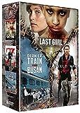 Coffret zombies 3 films : the last girl ; world war z ; dernier train pour busan