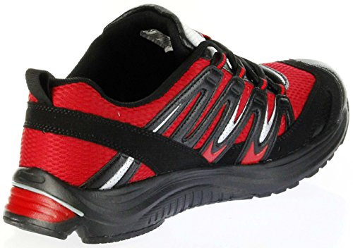 ConWay Sportschuhe rot schwarz Herren Outdoor Schuhe Brad Rot