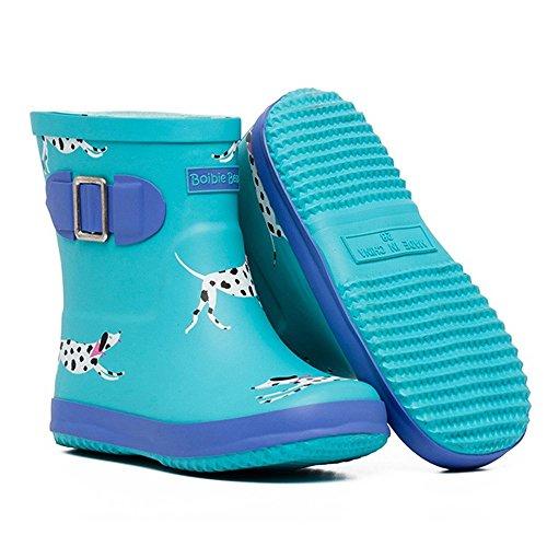 Brisk- Bottes De Pluie Les Enfants Glissent Tube Moyen Garçons Et Filles Chaussures D'eau Bottes De Pluie Chaussures Four Seasons Universal