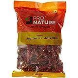 Pro Nature Organic Red Chilli Whole Hot, 100g