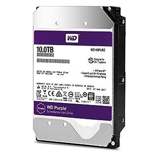"Western Digital Purple 10000GB Serial ATA III - Disco Duro (10000 GB, Serial ATA III, 5400 RPM, 3.5"", Surveillance System, Unidad de Disco Duro) (B06XRRT1PJ)   Amazon price tracker / tracking, Amazon price history charts, Amazon price watches, Amazon price drop alerts"