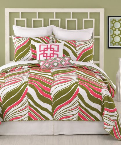 trina-turk-tigre-hoja-full-reina-edredon-90-por-2286-cm-color-rosa-verde