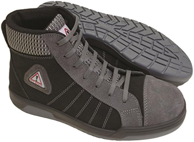 Seba 634 gnce Zapato alta, gris/negro S3 SRC, talla 42