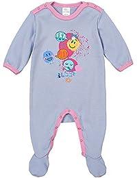 Schiesser Baby M/ädchen Body Anzug mit Fuss 151386 in Rot 503-rosa