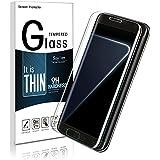 Galaxy S7 Edge Protecteur D'écran,Galaxy S7 Edge Verre Trempé,Soyion Film de Protection d' Écran en Verre Trempé pour Samsung Galaxy S7 Edge