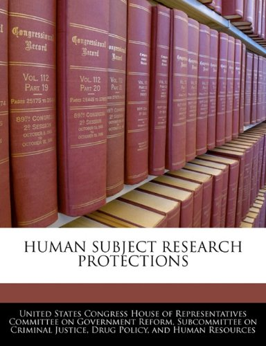 Human Subject Research Protections