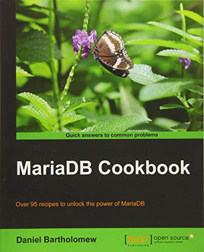 MariaDB Cookbook (English Edition)