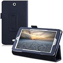kwmobile Funda para Acer Iconia One 7 B1-770 - Case delgado para tablet con soporte - Smart Cover slim para tableta en azul oscuro