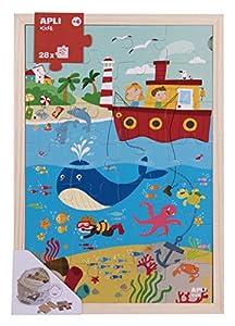 APLI Kids- Puzle, Multicolor (17199)