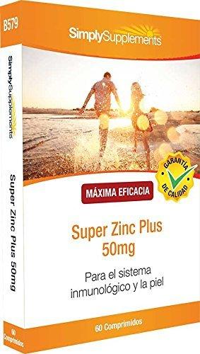 Super Zinc Plus 60 Compresse |Aiuta a difendere il sistema