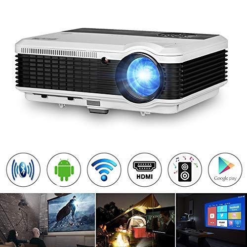 Wxga WiFi Proyector LCD 1080P HDMI Android 4500 Lumen