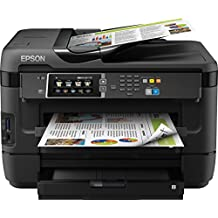 Epson WorkForce WF-7620DTWF Stampante Multifunzione a Getto d'Inchiostro, Nero