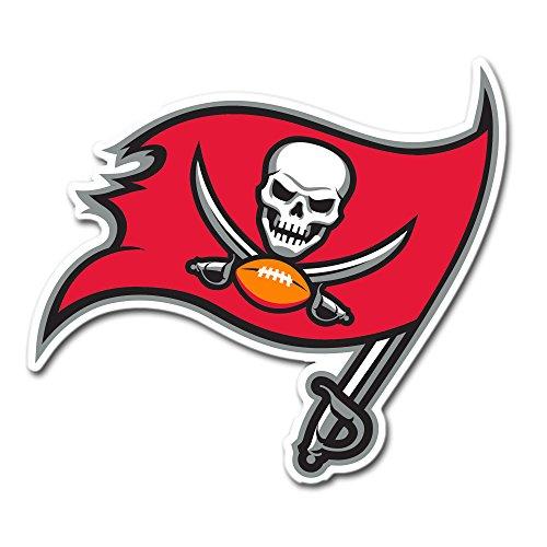 Fremont Die NFL Tampa Bay Buccaneers Vinyl Logo Magnet, 30,5cm Cardinal
