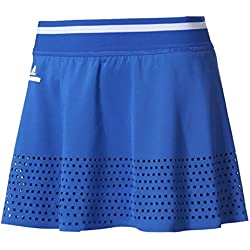 adidas by Stella Mccartney Barricade Skirt–Falda Tenis bk7957, Mujer, BK7957, boblue/White, Medium