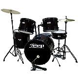 Deep 103BK Bateria acústica en Color Negro
