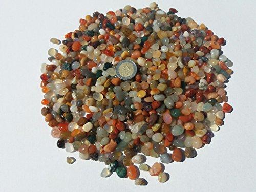 900gr. Trommelsteine,Heilsteine,Dekosteine,Steine,Halbedelsteine 4- 8mm aus Brasilien