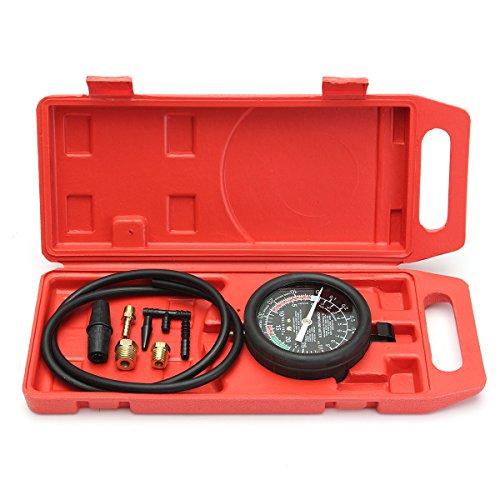 Druck-vakuum-messgeräte (Tutoy Auto Kraftstoffpumpe & Vakuum Tester Messgerät Leck Vergaser Druck Diagnosetester)