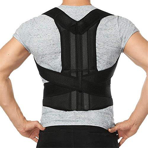 QHGao Rückenstützen, Unterstützung des Schlüsselbeins, Medizinische Geräte Zur Verbesserung Der Schlechten Haltung, Schulterausrichtung, Für Den Oberen Und Unteren Rücken Für Männer Und Frauen -