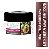 EARTH THERAPY® Brightening Papaya Night Cream Infused with Argan and Olive Oil