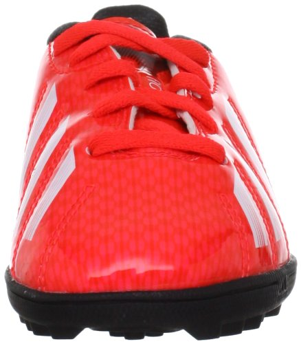 adidas F10 TRX Turf, Chaussures de football garçon Rot/Schwarz/Weiß