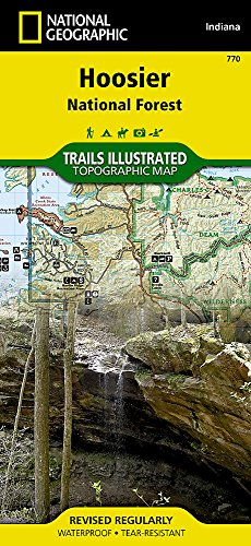 Hoosier National Forest: National Geographic Trails Illustrated National Parks (National Geographic Trails Illustrated Map, Band 770)