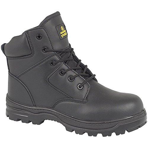 Amblers Steel FS006C Mens Metal Free Safety Work Boots FS006C Black Black