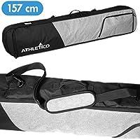 Bolsa de snowboard acolchada Athletico Peak (Negro / Gris, 157 cm