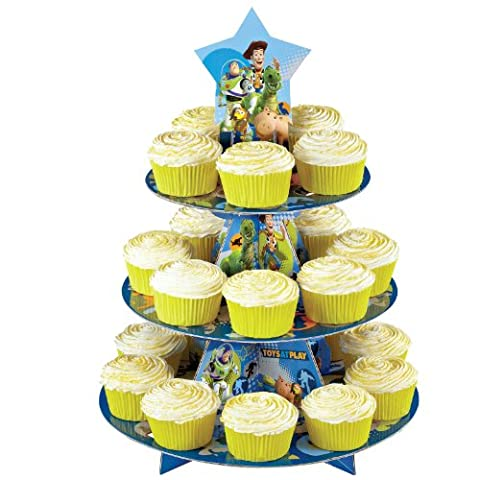 Wilton Treat Stand-Toy Story 11.75-inch x 15-inch Holds 24 Cupcakes, Other, Multicoloured