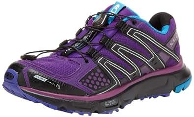 Salomon xr mission cs w violet noir bleu femme chaussures running trail Salomon T:42 2/3