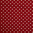 Homescapes Pure Cotton Furnishing Fabric - Polka Dots - Red - 150 cm Wide - Printed on Thick Woven - for Upholstery Curtain Cushion Soft Furnishings Heavy Dress Material - Per Metre