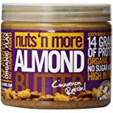 Nuts 'N More - Beurre Amande Cannelle Raisin 475ml