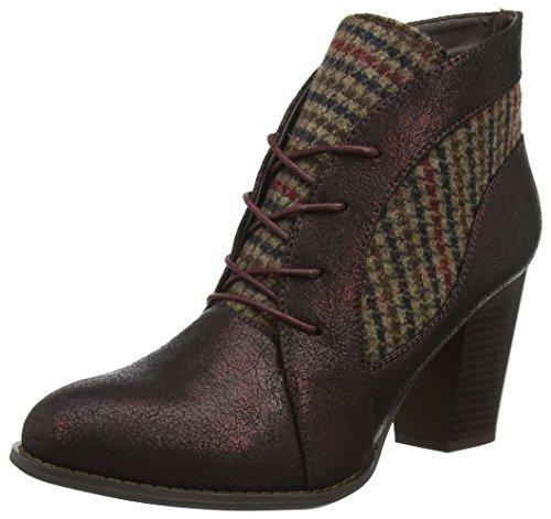 Joe Browns Damen Ultimate Tweedy Ankle Boots Stiefel, Violett (Plum Multi A), 39 EU Womens Brown Tweed