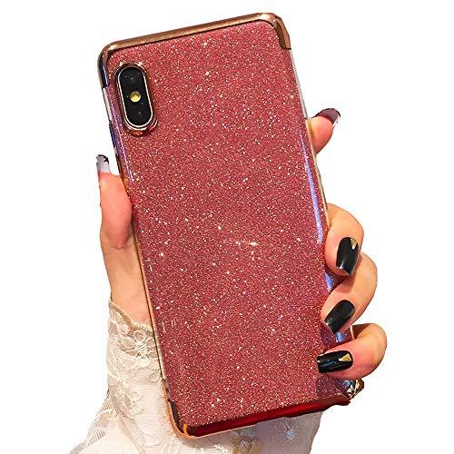 Miagon 2-1 Glitzer Hülle für {Samsung Galaxy M10},Luxus Glitzer Bling Überzug Hülle Handyhülle Slim Case Schale Leicht Dünn Schutzhülle Glänzendes