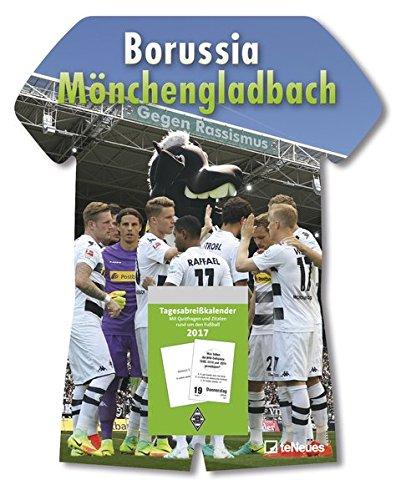 Borussia Mönchengladbach 2018 - Tagesabreißkalender Fußball, Fankalender  -  24 x 30 cm