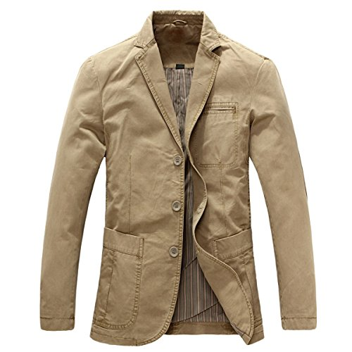 Allthemen Mens Casual Blazer Sli...
