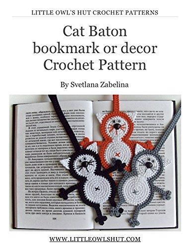 Bookmark Crochet Pattern Amigurumi LittleOwlsHut Ebook