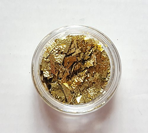 new-nail-art-doschen-flakes-in-gold-glitzer-glitter-folie-flitter-nageldesign-nagelkunst-manikure-pe