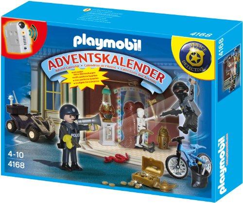Playmobil 4168 - Adventskalender Polizeialarm! Schatzräuber auf der Flucht