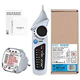 gfjfghfjfh Home Sicherheitsprüfsatz 220 V AST01 EU-Steckdosentester Steckdose FI-Schutzschalter Test & BSIDE AVD06 Spannungsprüfer