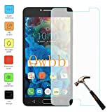 Owbb Protection écran en Verre Trempé pour Alcatel Pop 4S (5.5pouces) Smartphone Films de protection Transparents Ultra Clear -A Series