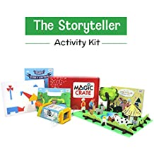 Magic Crate Activity Kit for 4+ Year-olds: The Storyteller ( Contains 3 Activities and a Storybook)