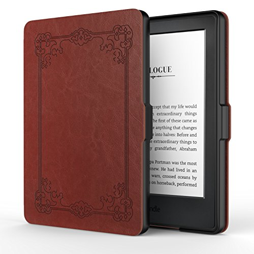MoKo Hülle für Kindle 8 Generation - Die dünnste und leichteste Schutzhülle Smart Cover mit Auto Sleep/Wake Amazon Kindle (8. Generation - 2016 Modell) 6 Zoll eReader, Jahrgangsloser Stil