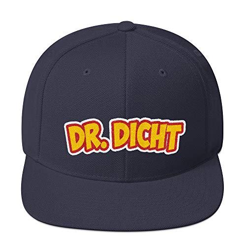Dr Dicht Party Snapback Fashion Style Alkohol Malle Apres Ski Ibiza Kappe Baseball Cap Cooles Design Gestickt Für Damen und Herren