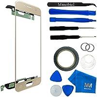 MMOBIEL Kit de Reemplazo de Pantalla Táctil para Samsung Galaxy A3 A310 (2016) Series (Oro) incluye cinta adhesiva de 2 mm / Kit de Herramientas / Limpiador de microfibra / alambre Metálico